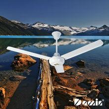 hecho en china 56 ventilador de techo de calor alimentado de la estufa de madera ventilador