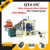 china product QT4-15c sawdust brick making machine sand lime brick machine