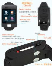 smart watch bluetooth 3g watch phone, ECG, heart rate, fatigue, GPS, SIM card, W2015, wrist watch tv mobile phone