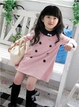 Cheap custom children clothes girl suit set