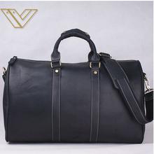 Hot sale cowhide genuine leather travel bag men handbag