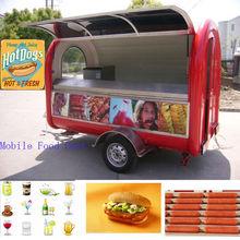 2014 China Made Electric Mobile Caravan Trailer Fast Food TrailerJC-3300