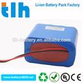 Longue durée de vie 14.8 V 5200 mAh 18650 batterie 2S4P