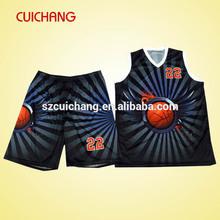 Latest basketball jersey design&basketball jersey logo design cc-203