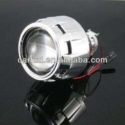 Wholesale universal angel eyes devil eyes projector lens kit H1 hid bi xenon projector lens light / double angel eyes projector