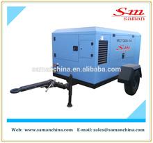 MCY300-14 portable diesel driven screw air compressor cummins engine
