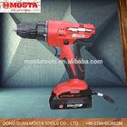18V 1.5Ah Mosta Performer Li-Lon Mini Cordless /Electric mini Hand Drill
