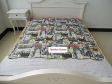 Adult Cartoon Printed Quilt, quilts/bedspreads