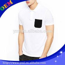 fashion men polo t shirt factory wholesale.