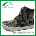 Mais recente da marinha verde alta corte skate sapatos casuais para homens