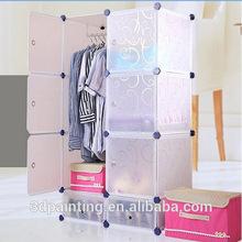 assemble plastic portable wardrobe closet