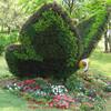 LF092628 New design artificial topiary animals topiary butterfly animals/artificial grass animal topiary