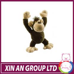ASTM /EN71 Hot selling super soft velboa monkey