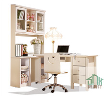 Latest study table and chair set HA-B# white child study table and chair