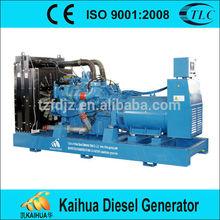 MTU engine 12V2000G65 matched 640KW generator set