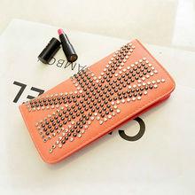 custom cheap price fashion design 2014 trend brand wallet ladies