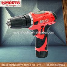 12V 1.3Ah Mosta Li-Lon Mini Portable Cordless /Electric Hand Drill