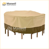 Outdoor Furniture Cover for Round Furniture with Handle and Airvent