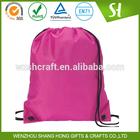 whoelsale polyester bag/drawstring bags/cute drawstring backpack bag