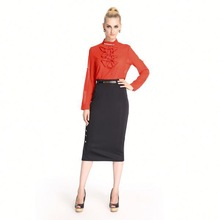 Low Price Soft Formal Blouse And Pants