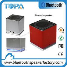 2014 New Arrival Metallic Vibration Bluetooth audio with Led Light