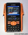 2014 novo item DVB S / S2 Satfinder SH-800HD demodulação qpsk, 8PSK digital medidor de sinal
