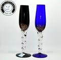 2014 venda quente feito à mão decorativos taças de vidro