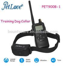 Waterproof Rechargeable Training Dog Collar Pet Training 1000m