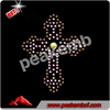 Iron On Rhinestone Cross Transfer Hot Fix Clothing Motifs For Garment Accessory