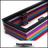 Colourful custom top quality car license plate frame