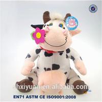 Stuffed Cow/Knitted Stuffed Cow/Stuffed Cow Plush Toy