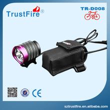 Led ring light!TrustFire D008 Led headlight,night light bicycle accessory Led bike light,powerful flashlight torch with Cree Led