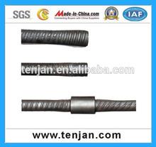 rebar coupler Steel bar connecting sleeve , rebar splicing coupler for construction