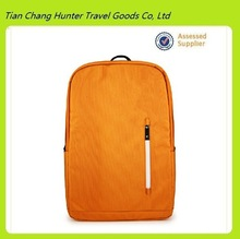 Durable plain 600D polyester backpack with laptop compartment (Model H3172)