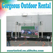 Light weight P6.944 Alibaba express high brightness P8 light weight outdoor rental led display