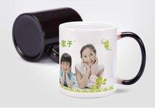 2015 New Color Changing Mug Printing Heat Sensitive Coffee Mug