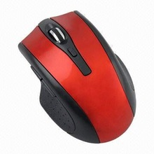 Paypal !!! 2012 new design blue-ray gaming mouse wireless pc pen mouse