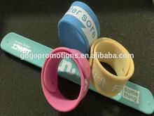 HOT-Sales Global market Cheaper custom silicone snap bracelet