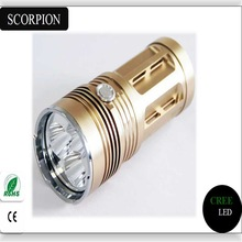 180 Lumens Chinese Best Cree LED Flashlight High Power Camping Supplies