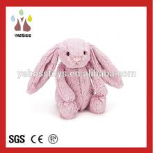 Factory Wholesale Super Cute Stuffed Pink Bunny Soft Toy Rabbit Love Rabbit