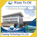 Ad alta tecnologia win-win progetto pneumatici di scarto macchine riciclaggio impianto di pirolisi per il riciclaggio dei rifiuti pneumatici/plastica/gomma