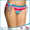 side ties colorful sex beach wear girls
