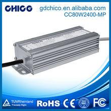 CC-80W2400-MP 80W 2400ma waterproof ip67 hs code led driver