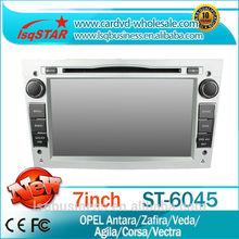 Lsqstar araba monitör multimedya opel Antara için/zafira/veda/agila/corsa/vectra gps navi, büyük fonksiyonlar!