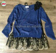 2015 Fashion sexy Twinset lace woman apparel stock