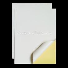 high gloss self adhesive paper sticker
