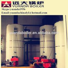 Low pressure vertical type oil or gas half ton boiler