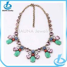 Wholesale fashion charm bali gemstone jewelry of necklace