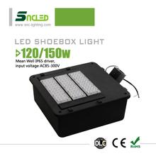 DLC led shoebox light UL led street light module kits pole mount led street light
