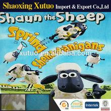 shaun the sheep,polar fleece blanket,coral velvet